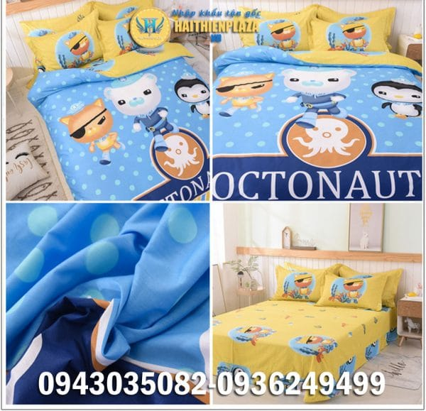 Chăn ga gối The Octonauts
