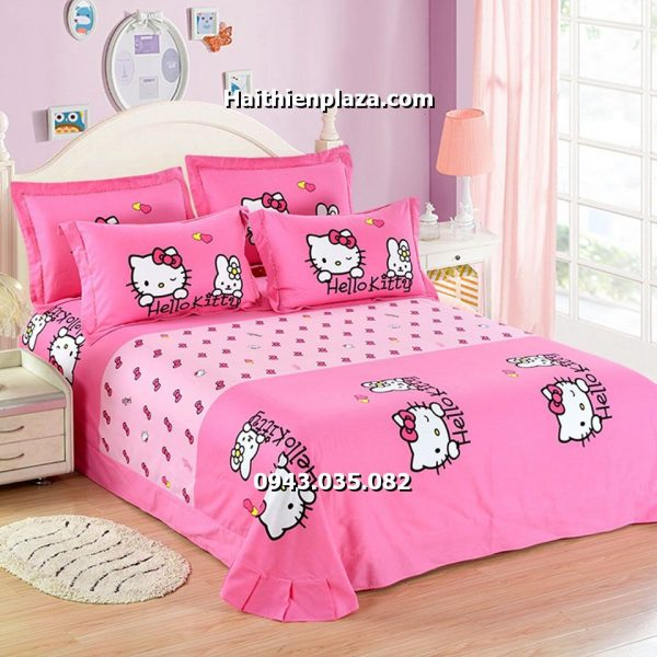 drap hình hello kitty